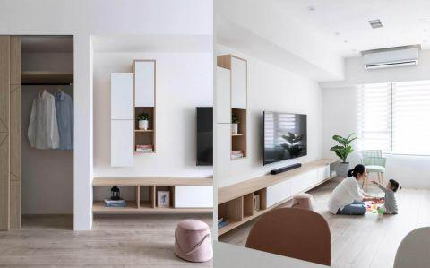 2019现代起居室装修设计 2019现代电视背景墙效果图