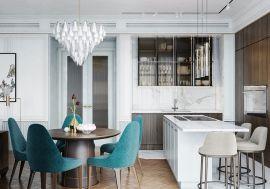 2019欧式90平米装饰设计 2019欧式三居室装修设计图片