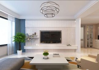 2019美式150平米效果圖 2019美式三居室裝修設計圖片
