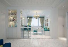 2019現代90平米裝飾設計 2019現代二居室裝修設計