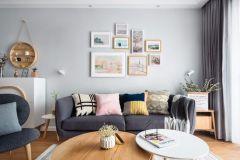 2019北歐90平米裝飾設計 2019北歐二居室裝修設計