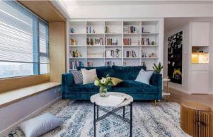 115平方米简约风格装二居室修效果图