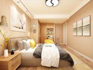 125平米现代风格三居室装修效果图