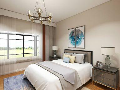富丽卧室中式装潢实景图片