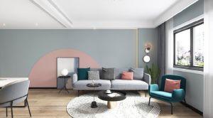 客厅沙发现代实景图