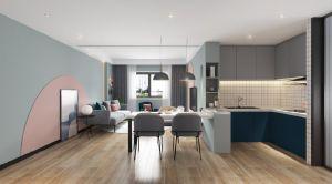 现代厨房橱柜设计图
