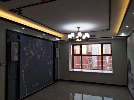 2020新中式110平米裝修設計 2020新中式三居室裝修設計圖片