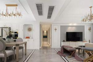 玄关白色走廊装饰实景图片