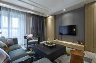 2019后现代卧室装修设计图片 2019后现代电视柜效果图