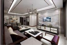 2019新中式110平米u乐娱乐平台设计 2019新中式楼房图片