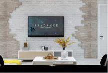 古朴彩色客厅室内装修图片