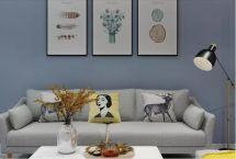美感彩色背景墙设计方案