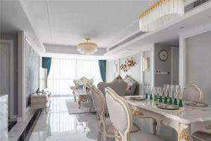 142平米優雅浪漫歐式4室2廳效果圖