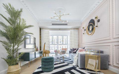 2020法式110平米装修设计 2020法式二居室装修设计