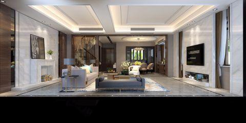 2019欧式150平米效果图 2019欧式四居室装修图