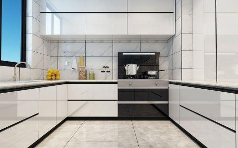 2019美式厨房装修图 2019美式厨房岛台效果图