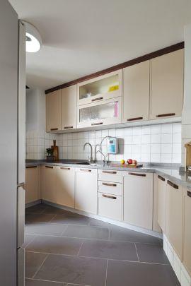 90平静谧北欧生活套房厨房优乐娱乐官网欢迎您欣赏