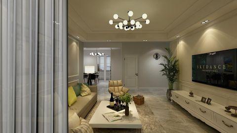 2020簡歐90平米裝飾設計 2020簡歐二居室裝修設計