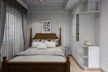 奢华大气彩色卧室u乐娱乐平台实景图片