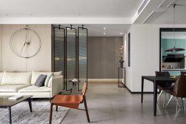 120平米现代风格三室装修效果图