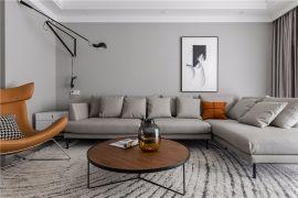 95平米现代风格二房装修效果图