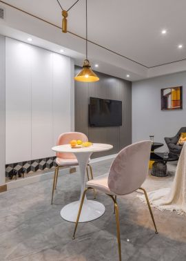 2019新中式110平米装修设计 2019新中式楼房图片