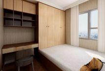 创意卧室新中式装饰效果图