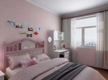 卧室粉色细节装饰设计