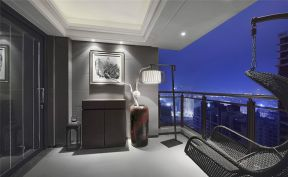 精品现代简约灰色窗台装修案例效果图