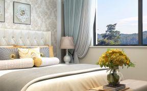 2019现代中式240平米装修图片 2019现代中式三居室装修设计图片