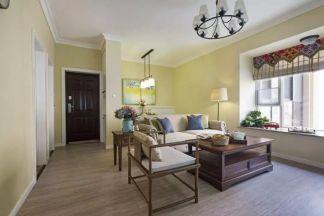 100平米浪漫美式三室兩廳邂逅溫暖愜意圖片