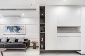 舒适客厅背景墙装潢设计图片
