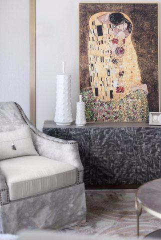 赏心悦目暖色系客厅设计图
