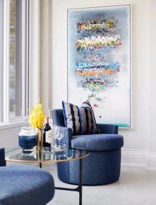 2019现代起居室装修设计 2019现代沙发设计图片
