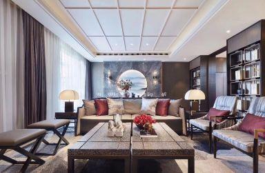 2019新中式起居室装修设计 2019新中式细节装修效果图大全