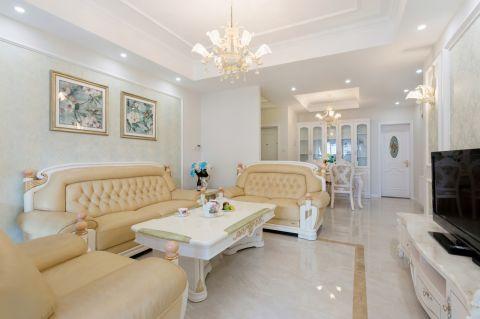 现代客厅简欧装饰设计图片
