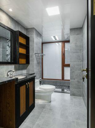2019新中式卫生间装修图片 2019新中式洗漱台装饰设计