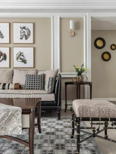 独具一格暖色系客厅装修设计图片