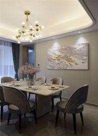 现代餐厅餐桌装饰设计图片