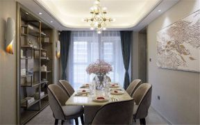 美好餐厅餐桌插花花瓶图片