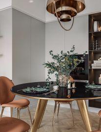 清新素丽餐厅插花花瓶现代简约室内装修设计
