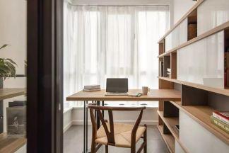 2019北欧书房装修设计 2019北欧飘窗装修设计图片