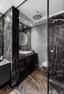 现代卫生间洗漱台装饰设计