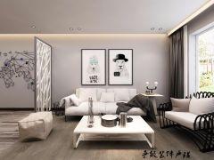 富丽客厅装饰图