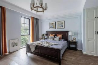 2019美式卧室装修设计图片 2019美式背景墙装饰设计