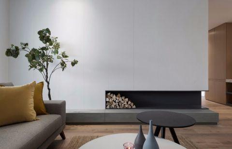 中正亲贤门150平现代简约三居室装饰效果图
