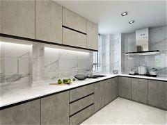 厨房橱柜现代设计方案