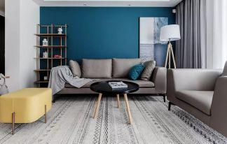 精致客厅沙发装饰实景图