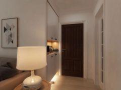纯净玄关现代简约室内装修设计