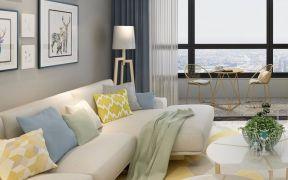 精致彩色客厅装饰设计图片